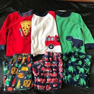 Carters 2T toddler fleece Pajamas sleepwear warm